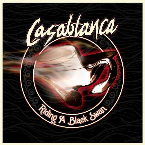 Casablanca - Riding A Black Swan omslag