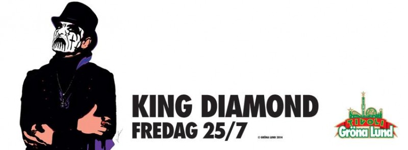 KingDiamondGrönaLund