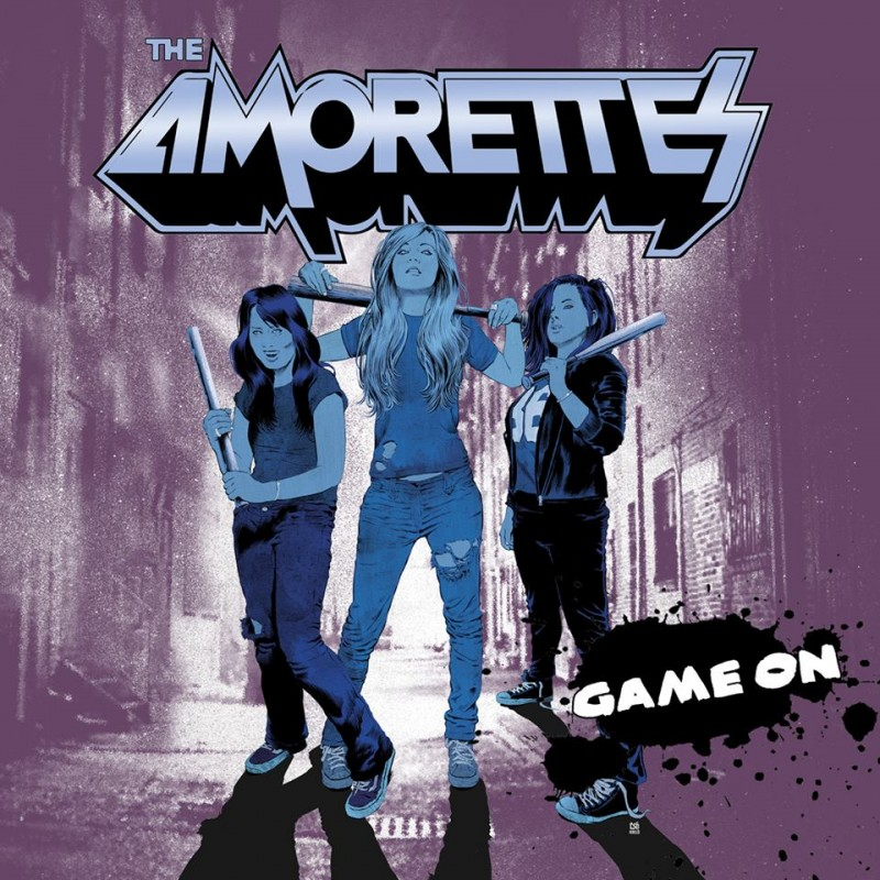 the-amorettes-game-on-album-cover
