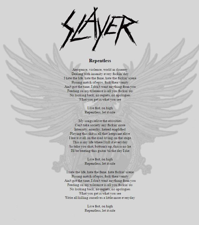 slayerrepentlesslyrics