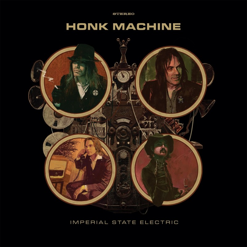Imperial State Electric - Honk Machine - Artwork